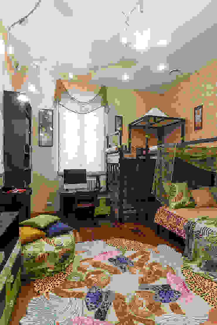 Детская мальчика Детская комнатa в тропическом стиле от Интерьеры от Марии Абрамовой Тропический