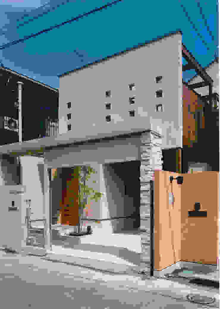 道路側外観 地中海風 家 の 豊田空間デザイン室 一級建築士事務所 地中海 石
