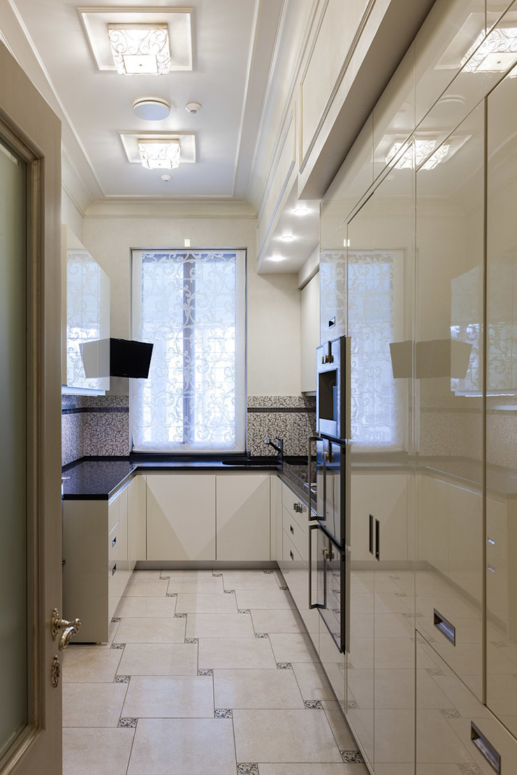 Кухня парадная Кухни в эклектичном стиле от Интерьеры от Марии Абрамовой Эклектичный