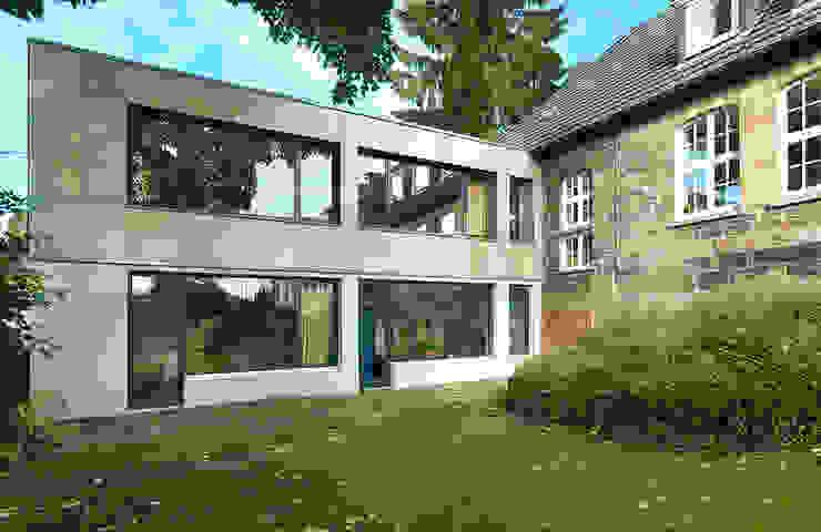 """""""Goldstück"""" - Kindergarten in Wuppertal, Energetische Sanierung einer Kindertagesstätte Moderne Schulen von insa4 ingenieure sachverständige architekten Modern"""
