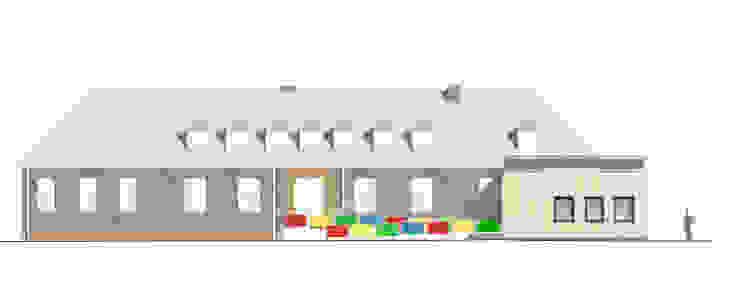 """""""Goldstück"""" – Kindergarten in Wuppertal, Energetische Sanierung einer Kindertagesstätte : modern  von insa4 ingenieure  sachverständige  architekten,Modern"""