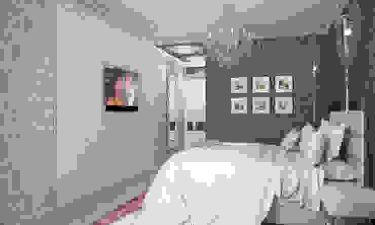 Романтичная спалья Спальня в классическом стиле от Гурьянова Наталья Классический