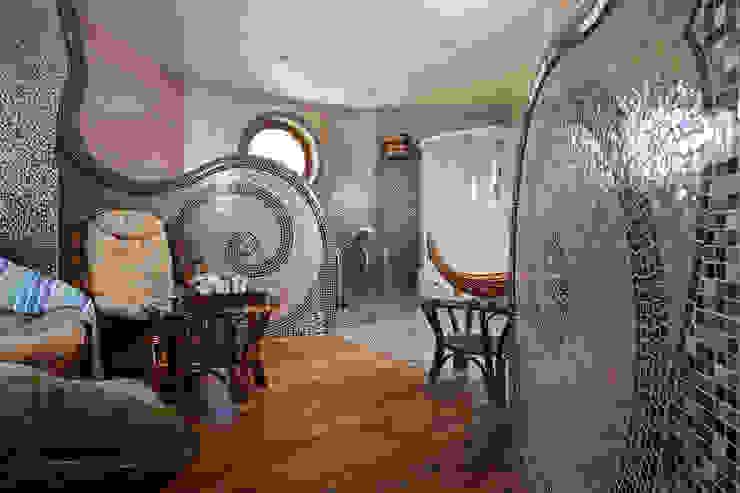 Зона отдыха сауны Спа в эклектичном стиле от Интерьеры от Марии Абрамовой Эклектичный