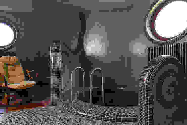 Купель сауны Спа в эклектичном стиле от Интерьеры от Марии Абрамовой Эклектичный