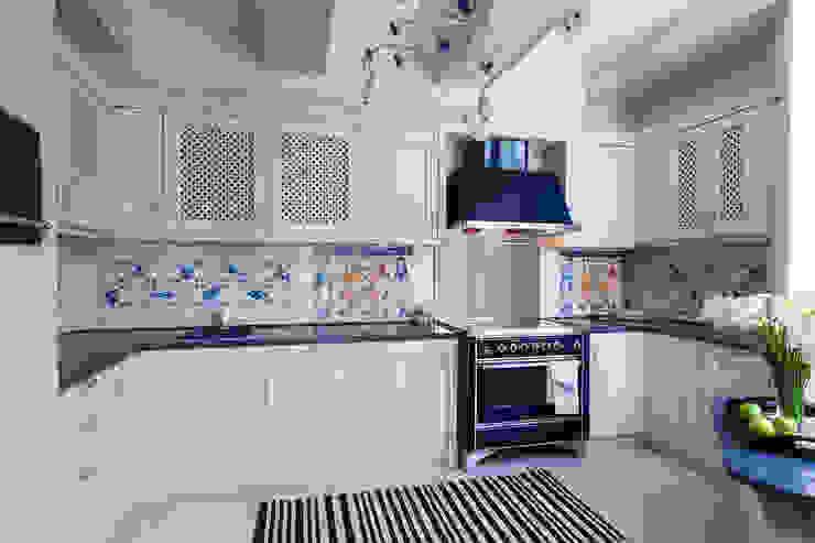 Летняя кухня Кухня в средиземноморском стиле от Интерьеры от Марии Абрамовой Средиземноморский