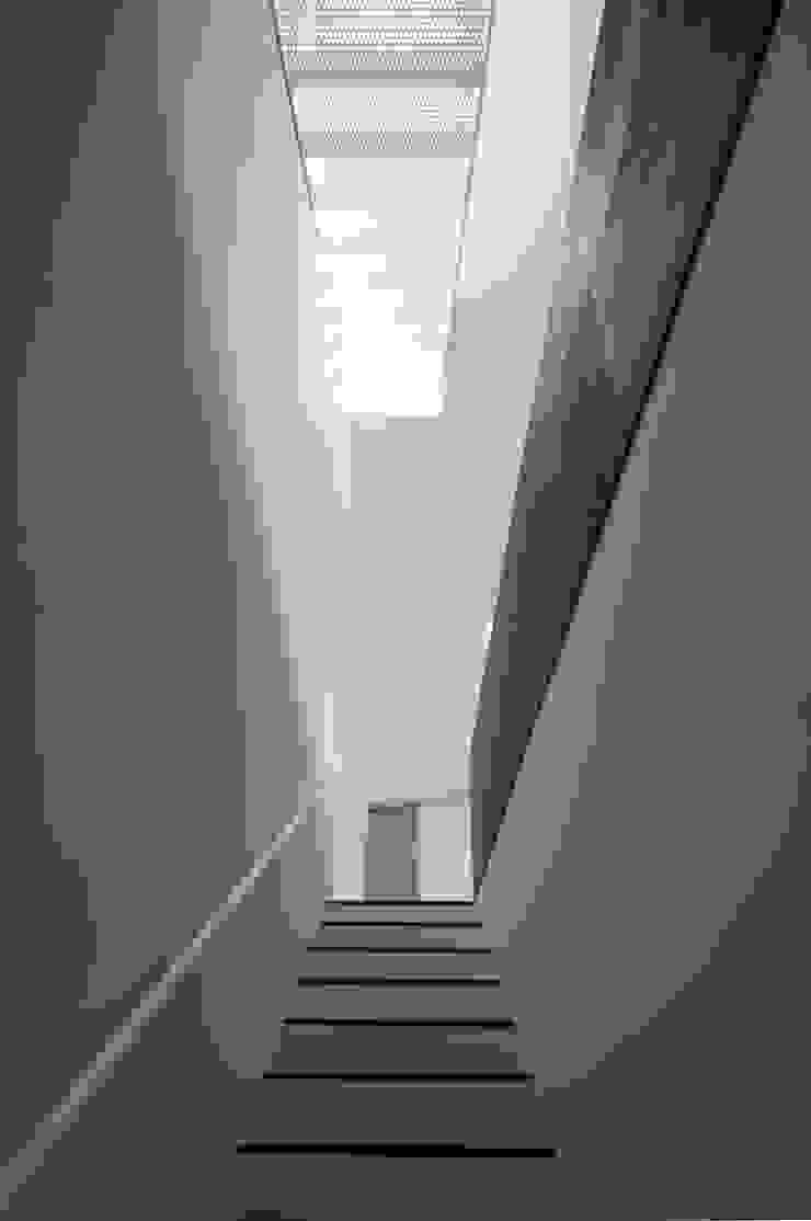 house KK 杉浦事務所 ミニマルスタイルの 玄関&廊下&階段
