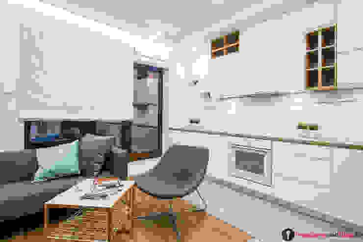 Scandinavian style kitchen by Urządzamy pod klucz Scandinavian