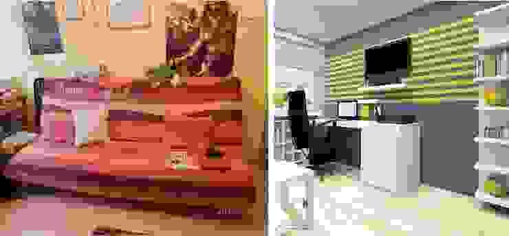 Pokój nastolatka w Dąbrowie Górniczej od Architekt wnętrz Klaudia Pniak