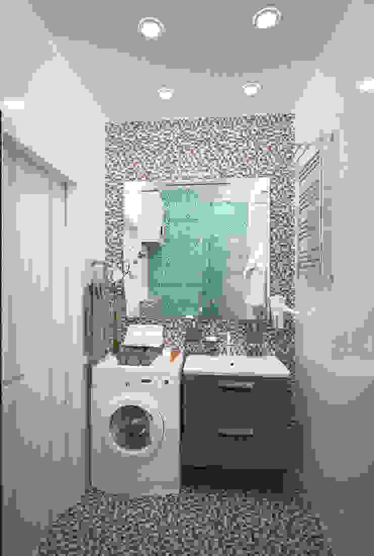 Из однушки – двушка Ванная комната в стиле модерн от Гурьянова Наталья Модерн