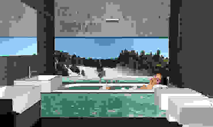 1. GLASBILDER IM BAD von Mitko Design | homify