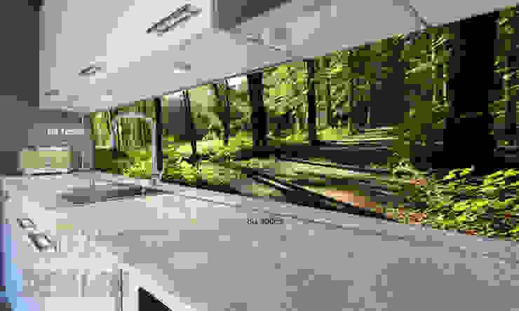 Cocinas de estilo  por Mitko Design, Moderno Vidrio