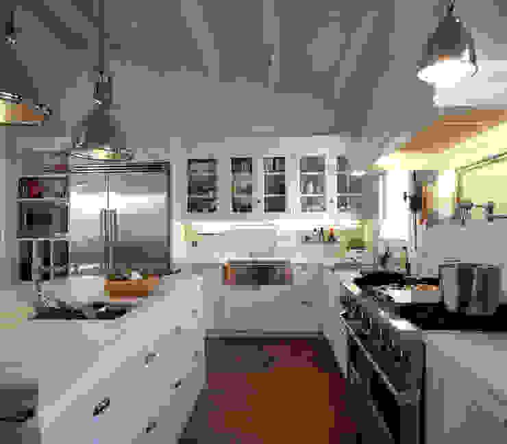 Projekty,  Kuchnia zaprojektowane przez DEULONDER arquitectura domestica, Nowoczesny