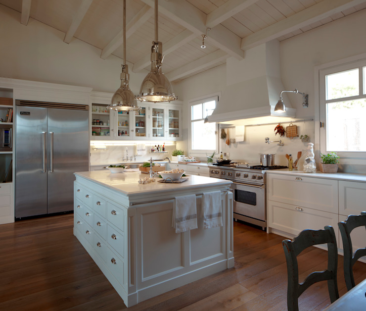 Cocina de estilo americano Cocinas de estilo moderno de DEULONDER arquitectura domestica Moderno