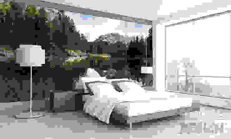 Schlafzimmer direkt am Eibsee? Moderne Schlafzimmer von Mitko Glas Design Modern Glas