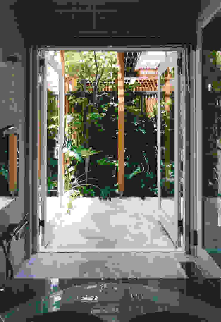 バスコート 地中海スタイルの お風呂・バスルーム の 豊田空間デザイン室 一級建築士事務所 地中海 石