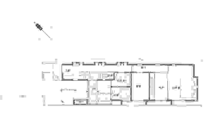 1F PLAN: 豊田空間デザイン室 一級建築士事務所が手掛けた地中海です。,地中海