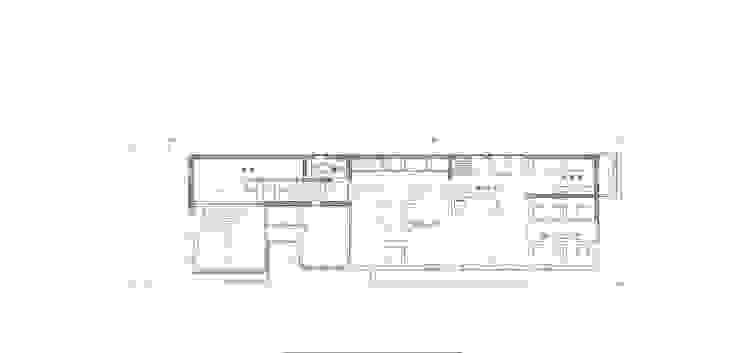 細長い敷地を逆手に生かした家 の 豊田空間デザイン室 一級建築士事務所