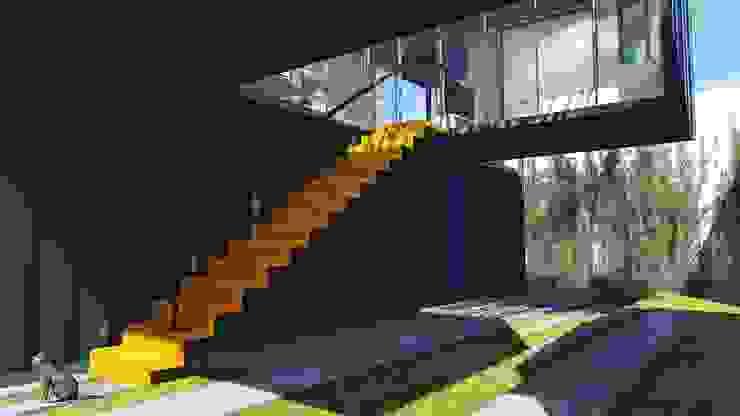 Modern houses by ESTUDIOFAROL - ARQUITETURA | DESIGN | URBANISMO Modern Iron/Steel