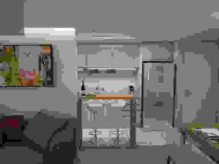 Projeto de Interiores Vila Fanny Cozinhas modernas por Daarna Arquitetura & Interiores Moderno