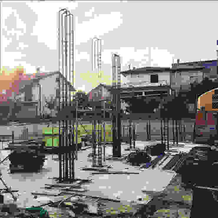 PRIVATE HOME IN PERUGIA - 2015|+297.00 Case moderne di Cacciamani Diego Architetto Moderno