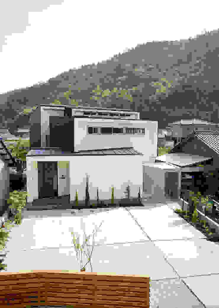 祐成大秀建築設計事務所 Casas de estilo moderno Blanco