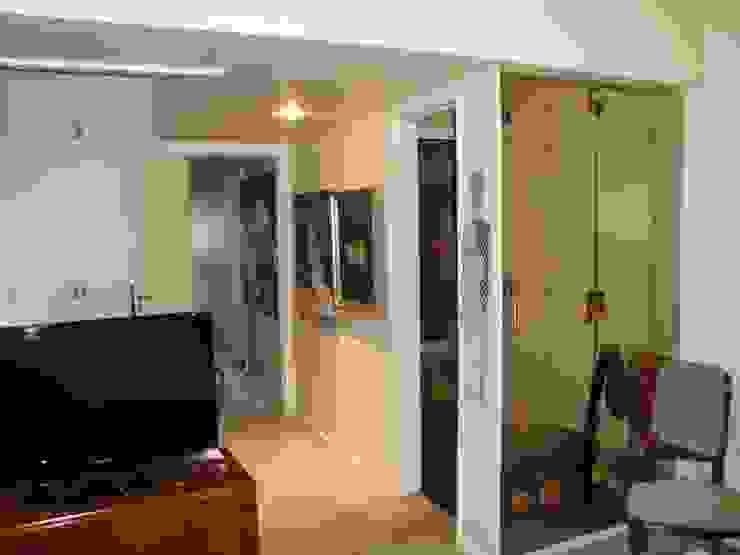 Dormitorio en suite previo intervencion de Hargain Oneto Arquitectas