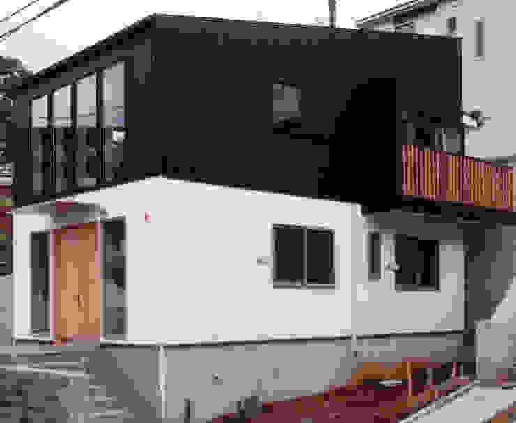 外観 豊田空間デザイン室 一級建築士事務所 オリジナルな 家 白色
