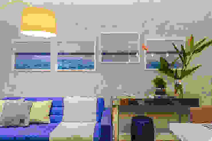 Apartamento Bela Vista Salas de estar modernas por STUDIO LN Moderno