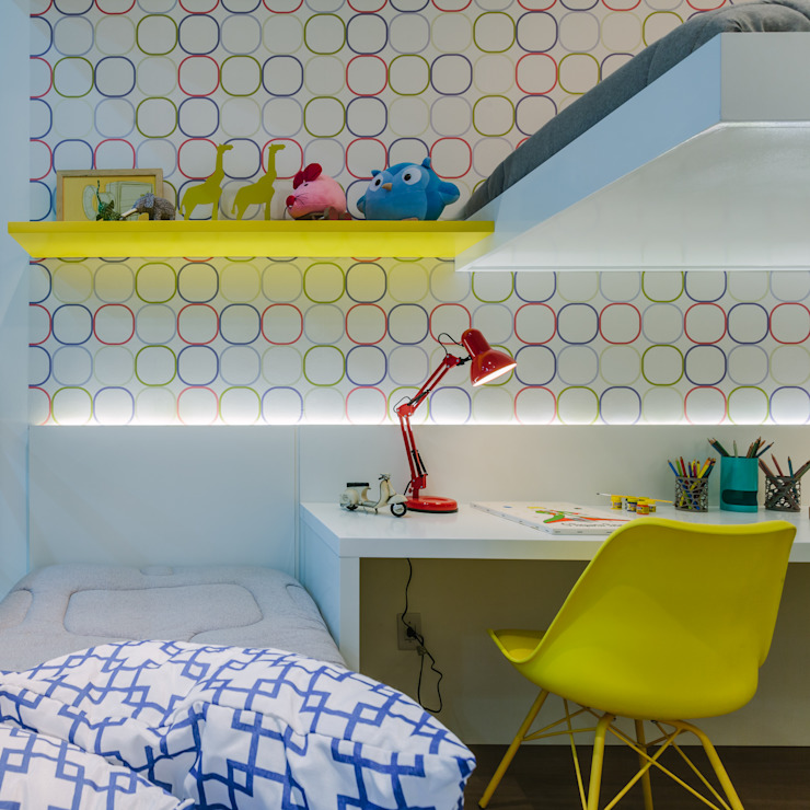 Apartamento Bela Vista Quarto infantil moderno por STUDIO LN Moderno