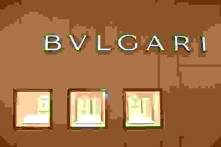 Bulgari // Palacio de Hierro, GDL. Espacios comerciales de estilo moderno de TocoMadera Moderno