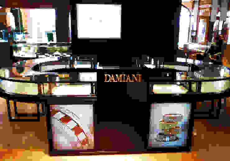Damiani // Barbados Espacios comerciales de estilo moderno de TocoMadera Moderno