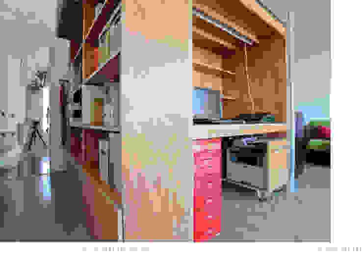 Estudios y despachos de estilo moderno de Brigitte Hübner Moderno