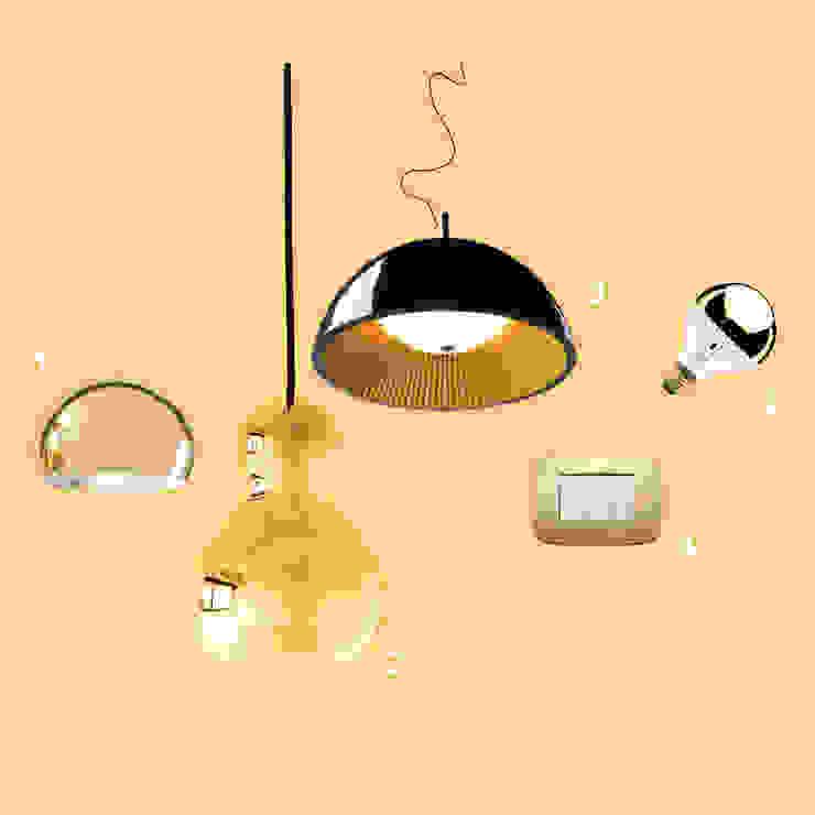 Iluminación decorativa de GEO Iluminación Aplicada Moderno Cobre/Bronce/Latón