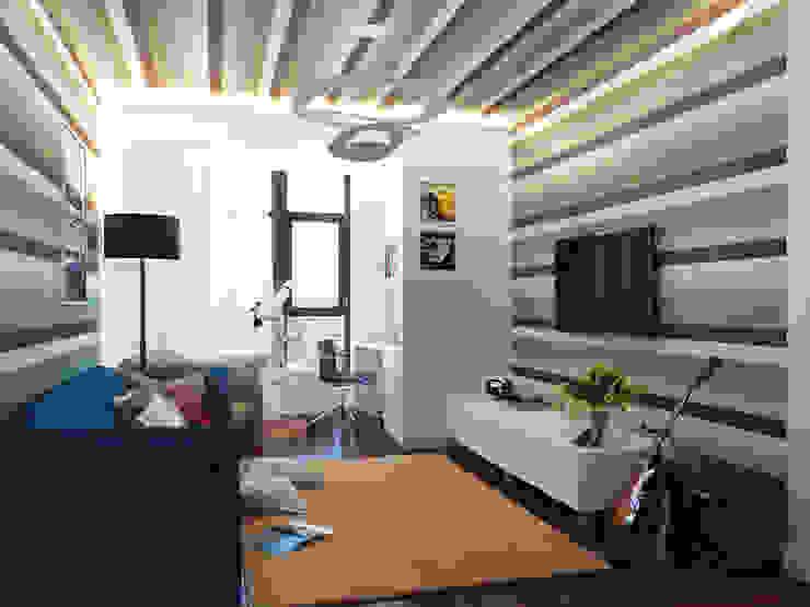 Dormitorios infantiles de estilo minimalista de Оксана Мухина Minimalista