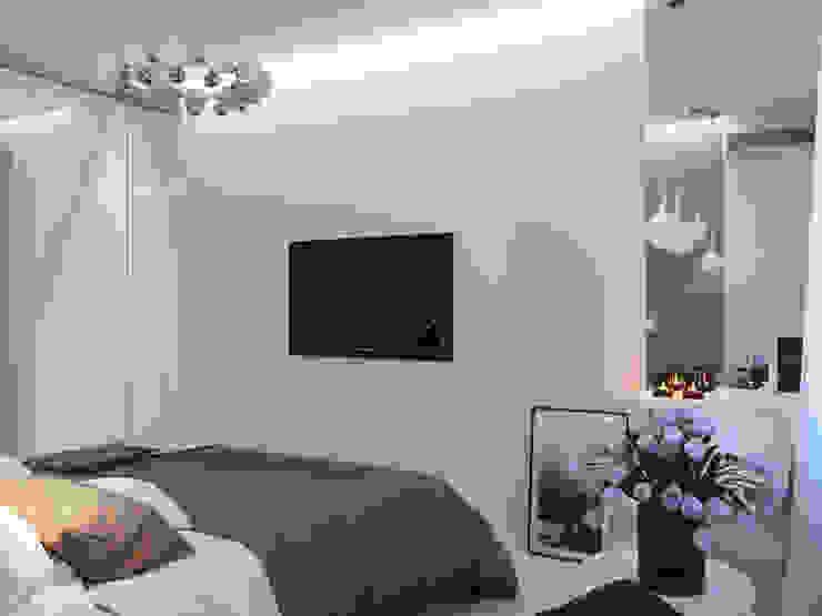 Оксана Мухина Minimalist bedroom