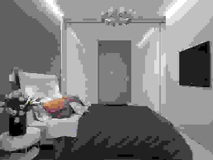 Квартира для современной пары Спальня в стиле минимализм от Оксана Мухина Минимализм