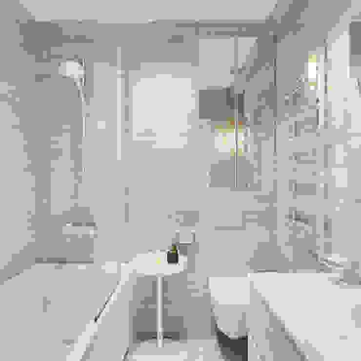 Оксана Мухина Minimalist style bathrooms