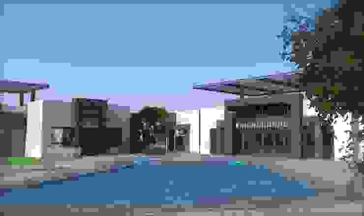 RENDERS DE PRESENTACION Casas minimalistas de Acrópolis Arquitectura Minimalista