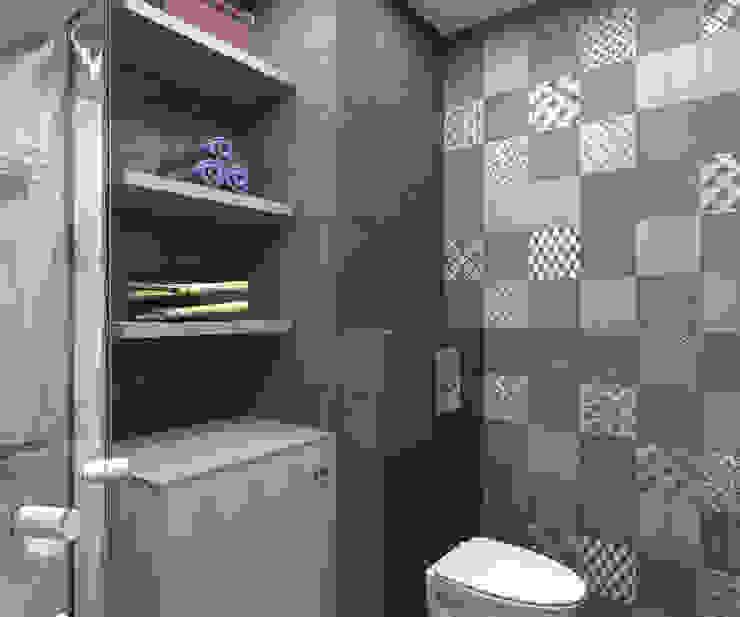 Клуб одиноких сердец Ванная комната в стиле модерн от Interika Модерн