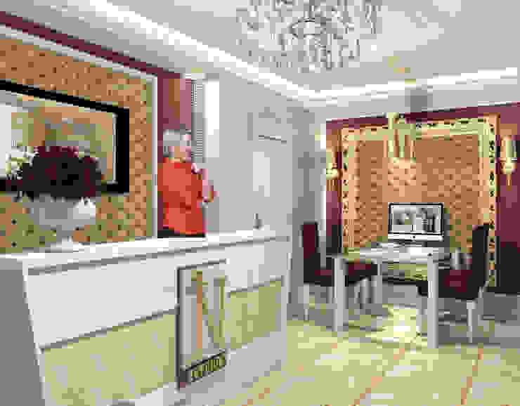 Офис компании Рабочий кабинет в классическом стиле от Interika Классический