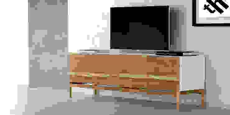 Muebles para TV de Forma muebles Moderno Madera maciza Multicolor