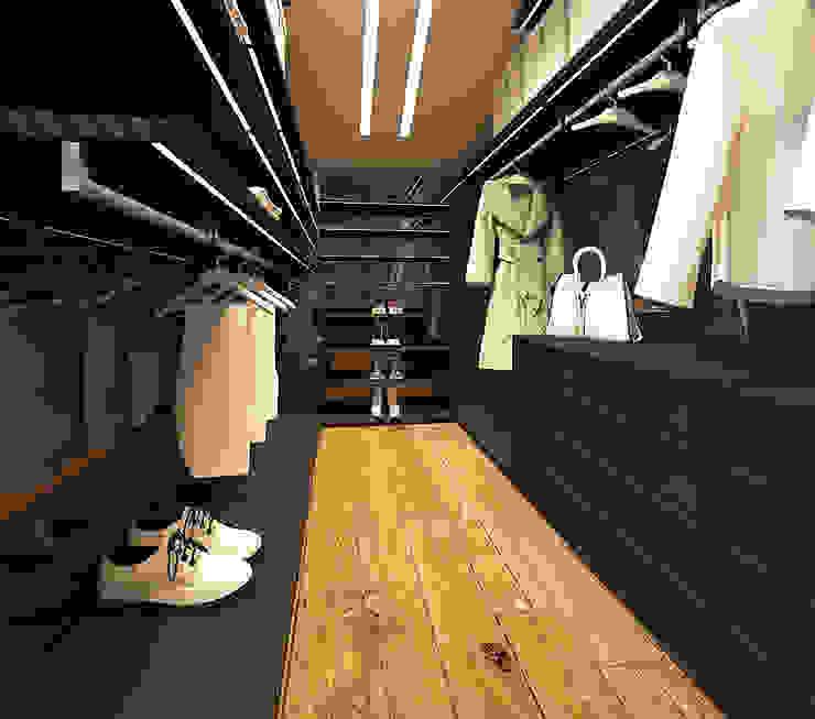 Modern dressing room by homify Modern MDF