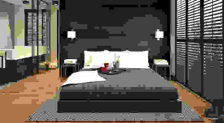 Projekty,  Sypialnia zaprojektowane przez homify,