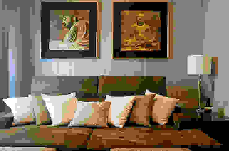 Apartamento Beiramar FL Salas de estar modernas por KARINA KOETZLER arquitetura e interiores Moderno