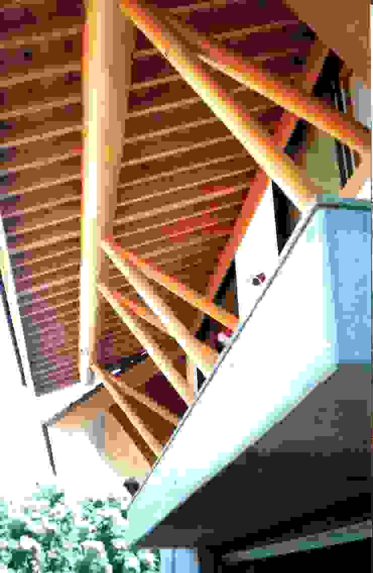 つくばの家 オリジナルな 家 の 有限会社加々美明建築設計室 オリジナル 木 木目調