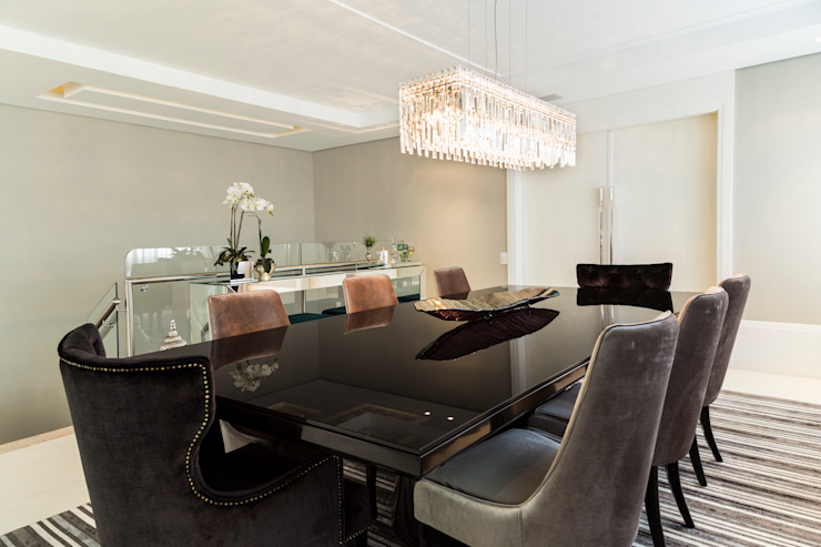 غرفة السفرة تنفيذ KARINA KOETZLER arquitetura e interiores, حداثي