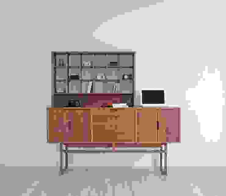 de ムラサワデザイン MURASAWADESIGN Moderno Madera Acabado en madera