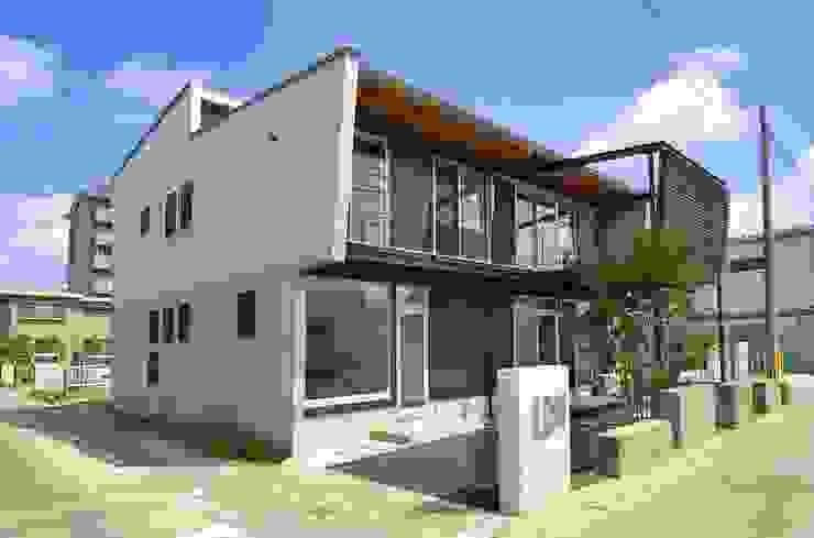 外観 モダンな 家 の 原 空間工作所 HARA Urban Space Factory モダン