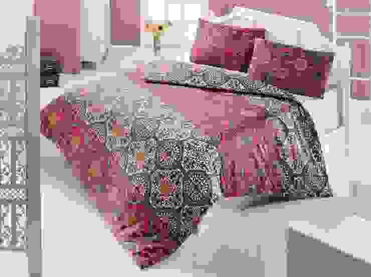 AKC eCommerce – Çift Kişilik Nevresim Takımı Antique: modern tarz , Modern Tekstil Altın Sarısı