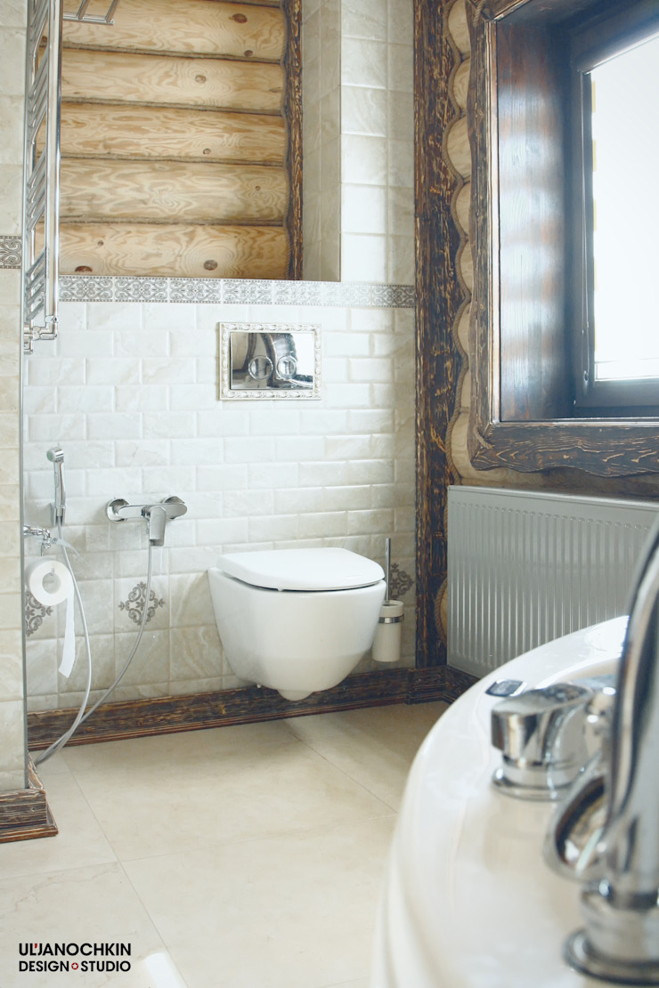 Country style bathroom by ULJANOCHKIN DESIGN*STUDIO Country